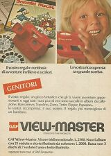 X9983 GAF View Master - Pubblicità 1976 - Advertising