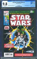 Star Wars 1 (Marvel) CGC 9.8 White Pages Facsimile Edition Reprint