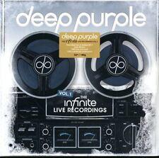 DEEP PURPLE THE INFINITE LIVE RECORDINGS VOL.1 TRIPLO VINILE LP 180 GR. NUOVO