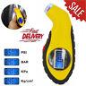 Digital LCD Tyre Pressure Gauge Tester Measurement Car Motorcycle Bike Van Tool@