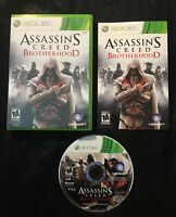 Assassin's Creed Brotherhood — Complete w/ Manual! Fast Ship! (Xbox 360, 2010)
