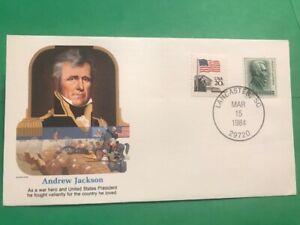 Andrew Jackson Civil War Fleetwood 1994 Military Heroes L75 Lancaster SC