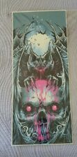 Godmachine Signed Numbered Print Skull Bat