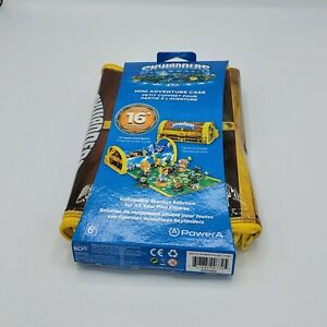 Skylander Mini Adventure Case Holds16 Mini Figures with Zip Out Gameplay Mat