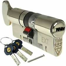 Yale Platinum 3 Star Euro Turn Cylinder 35/10/35 (80mm) Maximum Security