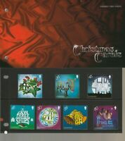 Guernsey Mint Stamps 4.11.10 presentation pack CHRISTMAS CAROLS free UK postage
