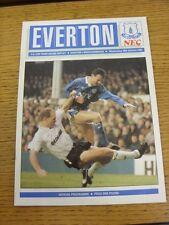 10/01/1990 Everton V MIDDLESBROUGH FA Cup []. questo oggetto è stato ispezionato, qualsiasi