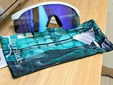 Oakley 30th Heritage Razor Blades WHITE VIOLET Iridium Sunglasses OO9140-15