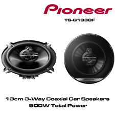 """PIONEER TS-G1330F - 13cm 5.25"""" 3-Way Car Co Axial Speakers 500W Total Power"""