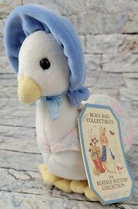 EDEN - Beatrix Potter Jemima Duck Bean Bag Stuffed Animal Easter NEW PLUSH TOY