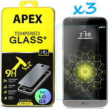 TEMPERED GORILLA GLASS SCREEN PROTECTOR For LG G5 USA