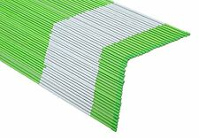 20x Driveway Markers Snow Stakes 1/4Inchx 4FT  Long Green Reflective Markers