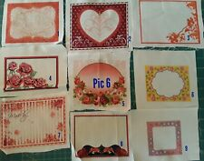 Little House On The Prairie Sewing Labels Cotton Quilting Fabric 34 Labels