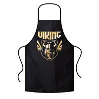 Viking Wikinger Valhalla Odin Thor North Grillschürze Kochschürze Latzschürze