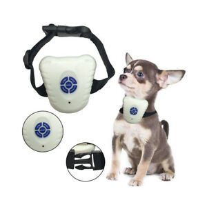 Ultrasonic Stop Dog Barking Anti Bark Collar Pet Training Collar Control Aid