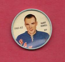 RARE 1961-62 SHIRRIFF  NY RANGERS HARRY HOWELL  COINS
