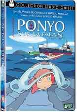 DVD Walt Disney Studio Ghibli Ponyo sur la Falaise Hayao Miyazaki Joe Hisaishi