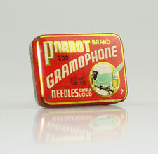 PARROT 'Extra Loud' Gramophone Needle Tin, with needles (ZZ108)