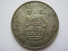1925 George V silver Shilling, VF.