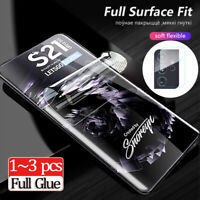 For Samsung Galaxy S21 Ultra/S21+/S21 TPU Hydrogel Screen Protector/Camera Lens