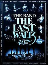 THE BAND The Last Waltz 40th Anniversary Ltd Ed HUGE RARE Embossed Litho Poster!