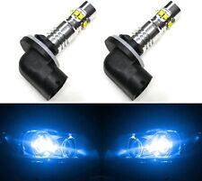 LED 50W 879 H27 Blue 10000K Two Bulbs Fog Light Replacement Show Use Lamp