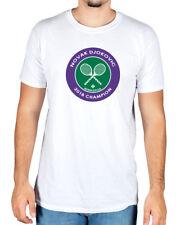 Novak Djokovic Tennis World Champion 2018 Logo T-shirt Serbia Wimbledon