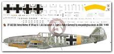 """Peddinghaus 1/48 Bf 109 F-4 """"White 111"""" Markings Helmut Mertens 1./JG 3 1682"""