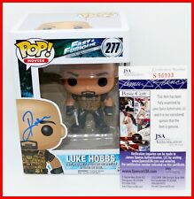 Dwayne The Rock Johnson Signed Autographed Luke Hobbs Fast Furious Funko Pop Jsa