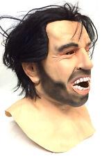 Vestido de Lujo Máscara De Halloween Jack Nicholson el resplandor horror aquí hay Johnny! de látex