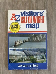 Isle of Wight Visitors' Map by Wightlink Ferries A-Z Map Company (2000s)