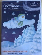 The Snowman and the Snowdog Crafting CD ROM - Crafter's Companion - Christmas