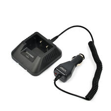 Car Charger Cable for Baofeng UV-5R A/E/Plus UV-82 GT-3 TYT TH-F8 Two-way Radio