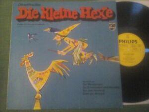 LP: OTFRIED PREUSSLER - Die kleine Hexe (2) - Der Maronimann - PHILIPS - Gelb