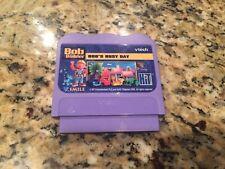 Bob the Builder Bob's Busy Day Vtech Vsmile Game Cartridge Only
