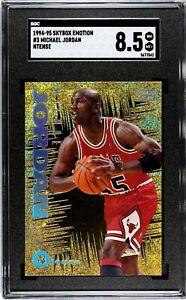 1994 E-Motion N-Tense Michael Jordan #N3 SGC 8.5
