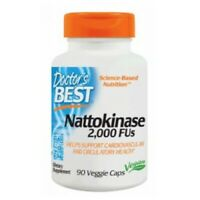 Best Nattokinase 90 Veggie Caps 2000 fibrin units