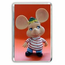 RETRO TV NOSTALGIA - TOPO GIGIO  JUMBO FRIDGE / LOCKER MAGNET