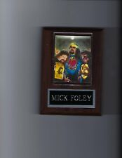 MICK FOLEY PLAQUE WRESTLING WWE WWF DUDE LOVE CACTUS JACK MANKIND