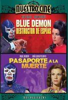 Blue Demon Destructor de Espias & Pasaporte Muerte [New DVD] Full Frame, Dolby