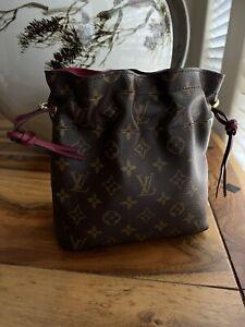 Louis Vuitton Noe Pouch Purse Monogram M43445 Made in France Bag Pouchette