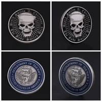 Coin Commemorative American Navy Army Collection Cool Gift Alloy Drop Support
