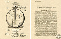 Fire Extinguishing Grenade US Patent Art Print READY TO FRAME! Vintage1925