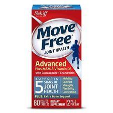 New Schiff Move Free Glucosamine Chondroitin Plus MSM & Vitamin D3 EXP.2019/07