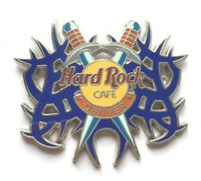 Hard Rock Cafe Pin Badge Denver Tattoo Series Sword with Blue Flames