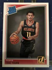 2018-19 Donruss Trae Young Rated Rookie RC #198