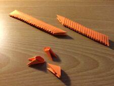 3D Origami Pieces Color: Orange (275 pieces per order)