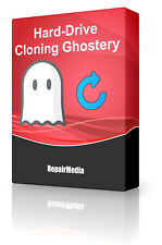 Hard Drive Cloning Backup Ghost Copy Duplicator Image Bootable Disc Software DVD