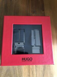 BNWT HUGO by HUGO BOSS Gionat Leather Belt Gift Set Box