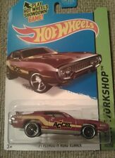 Hot Wheels Workshop 1971 Red Plymouth Road Runner Classic Cars NEW